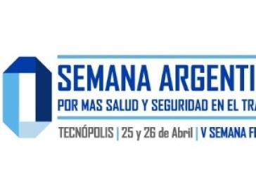 El Gobierno de Santa Fe participa de la 10º Semana Argentina de la Salud y Seguridad en el Trabajo