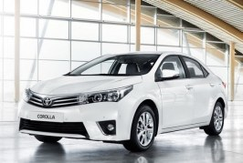Toyota Corolla 2014 recibe las mejores calificaciones en pruebas de seguridad en Europa