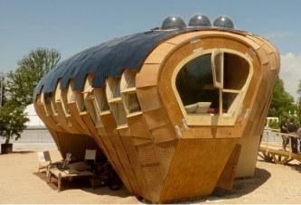 Casa Solar que funciona como un árbol