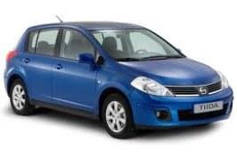 Nissan Tiida, ganador del premio Crash Test en la categoria mediano