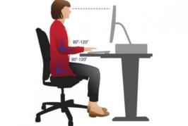 Los riesgos del trabajo en la oficina y el escritorio