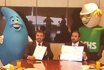 Chile: Esval firma acuerdo con la ACHS para reforzar su cultura de prevención y seguridad en el trabajo