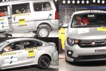 Seguridad en los autos: Resultados muy pobres para Mobi y N300 y mejoras para New Rio Sedan