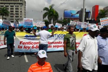 República Dominicana: Trabajadores construcción demandan más seguridad y respeto a pensiones