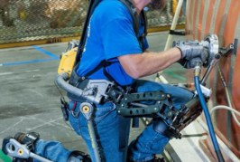 Exoesqueletos, servo-asistencia para trabajadores