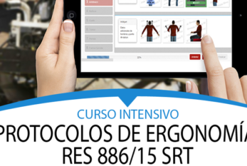 2018: ARGENTINA – CURSO INTENSIVO DE ERGONOMÍA RES 886/15