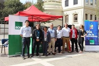 Universidad de Chile y ACHS celebran el Día Internacional de la Seguridad
