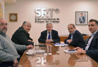 La SRT y Luz y Fuerza analizaron el proyecto de Ley de Prevención