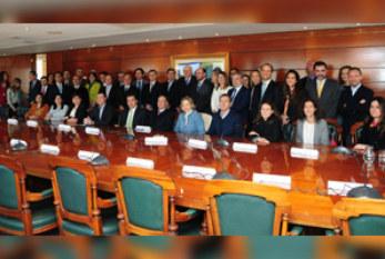 ACHS junto a otras instituciones se reunieron con Alfredo Moreno para tratar el rol del sector privado en el desarrollo social del país
