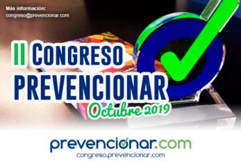 2019: ESPAÑA – II CONGRESO PREVENCIONAR