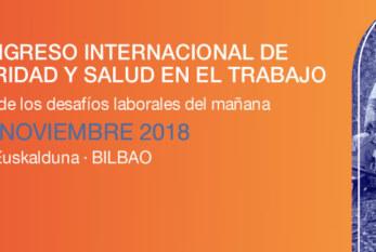 2018: BILBAO – IV CONGRESO INTERNACIONAL DE SEGURIDAD Y SALUD EN EL TRABAJO