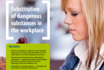 Sustancias peligrosas: hojas informativas sobre legislación y sustitución