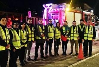 Inacap realiza simulacro de incendio a nivel nacional con éxito