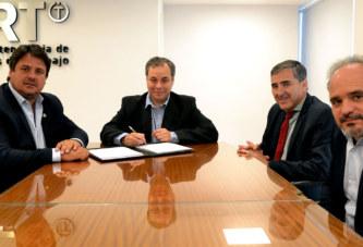 Acuerdo con Neuquén para prevenir los accidentes laborales