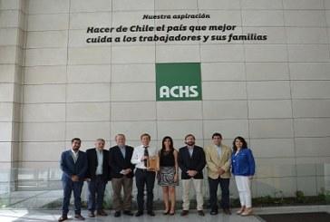 Coca Cola Andina recibe reconocimiento por su gestión de accidentabilidad