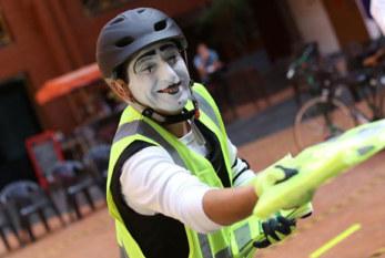 La ACHS y Canal 13 realizaron jornada sobre la prevención de accidentes en la vía pública