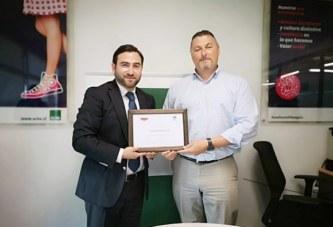 Foraco Chile recibe reconocimiento por cumplir 1 año sin accidentes