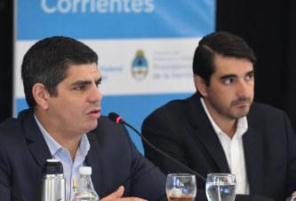 Corrientes firmó un convenio de adhesión a la Ley de riesgos del Trabajo
