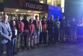 Inacap y la ACHS realizan con éxito primer simulacro nacional del semestre