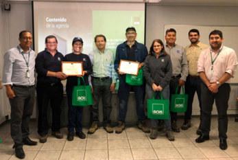 Comités Paritarios de Cristalerías Toro reciben certificación de higiene y seguridad
